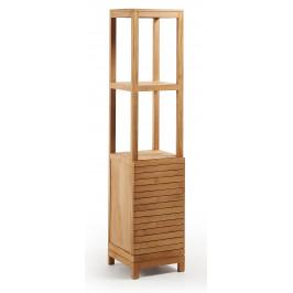 Dřevěný úzký regál LaForma Sunday 40 x 40 cm