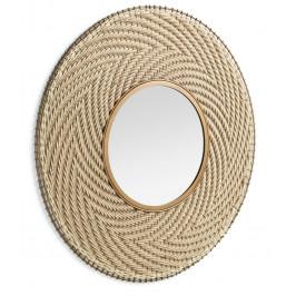 Kulaté závěsné zrcadlo LaForma Klevin 80 cm