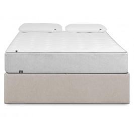 Béžová čalouněná postel LaForma Matters 180x200 cm