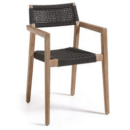 Dřevěná zahradní židle LaForma Corvette