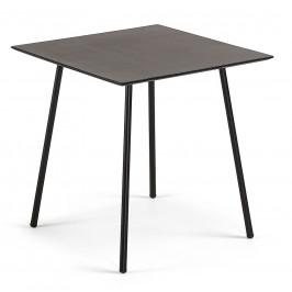 Černý jídelní stůl LaForma Ulrich 75 x 75 cm