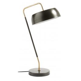Černá kovová stolní lampa LaForma Galeria