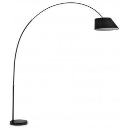 Černá kovová stojací lampa LaForma Lee