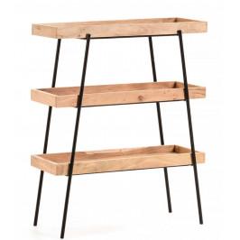 Malý dřevěný regál LaForma Basi