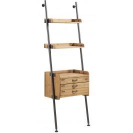 Dřevěný regál LaForma Belamo 67x200 cm