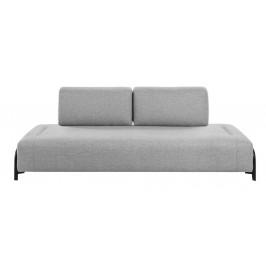 Světle šedá čalouněná pohovka LaForma Compo 232 cm