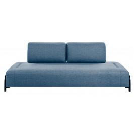 Modrá čalouněná pohovka LaForma Compo 232 cm