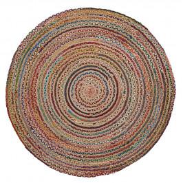 Pestrobarevný jutový koberec LaForma Samy 100 cm