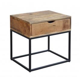 Moebel Living Masivní noční stolek Fabio 45 cm