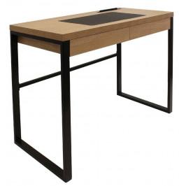 Culty Dřevěný pracovní stůl Porter 100 x 50 cm