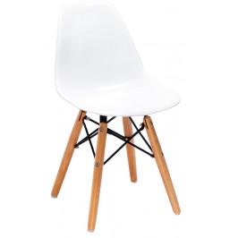 Culty Gold Bílá dětská židlička DSW Junior I.