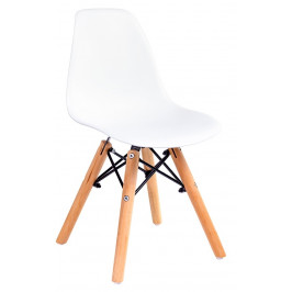 Culty Gold Bílá dětská židlička DSW Junior II.