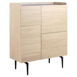 SCANDI Dubová komoda Rania 100 x 43 cm