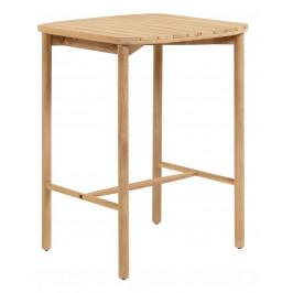 Dřevěný zahradní barový stůl LaForma Sheryl 75 x 75 cm