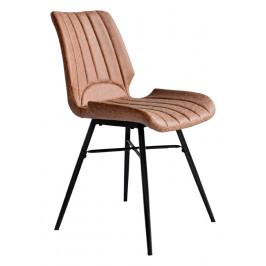 Světle čalouněná jídelní židle RGE Unique