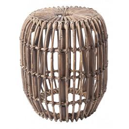 Hnědá ratanová stolička RGE Venus