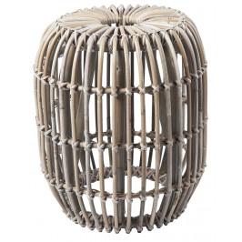 Světlá ratanová stolička RGE Venus