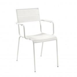 Bílá kovová zahradní židle LaForma Allegian