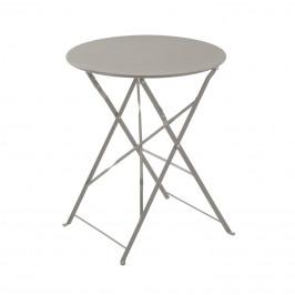 Šedý skládací kovový kulatý stůl LaForma Alrick 60 cm