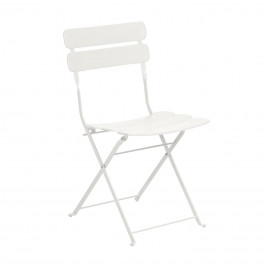 Bílá kovová zahradní židle LaForma Ambition