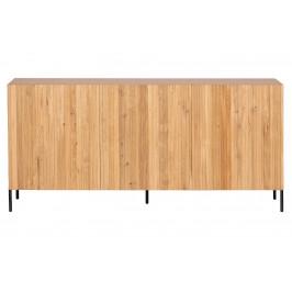 Hoorns Přírodní dubová komoda Gravia 180 x 46 cm