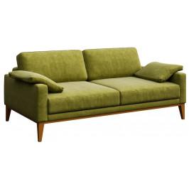 Zelená dvoumístná čalouněná pohovka MESONICA Musso 173 cm