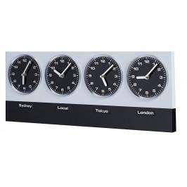 Moebel Living Celosvětové kovové hodiny Howard