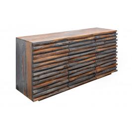 Moebel Living Masivní sheeshamová komoda Matis 160 x 45 cm