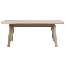 SCANDI Přírodní dubový konferenční stolek Aiko 118 x 58 cm