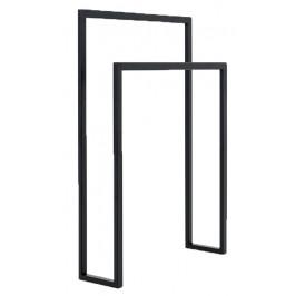 Nordic Design Černý kovový věšák Hess