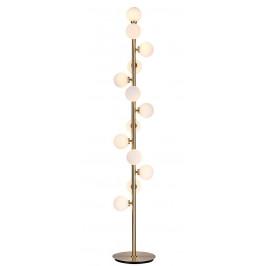 Culty Gold Zlatá kovová stojací lampa Scarlett 150 cm