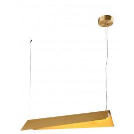 Culty Gold Zlaté kovové závěsné světlo Dionne 104 x 29 cm