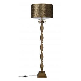 Zlatá stojací lampa DUTCHBONE Pina