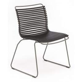 Černá plastová zahradní židle HOUE Click