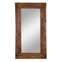 Nordic Living Masivní dřevěné závěsné zrcadlo Grane 101 x 180 cm