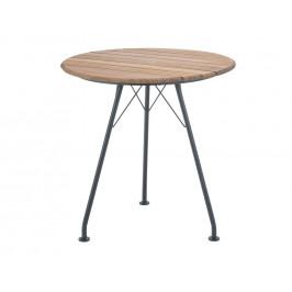 Přírodní bambusový zahradní bistro stůl HOUE Circum 74 cm