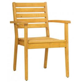 Rondo Dřevěná zahradní židle Caro