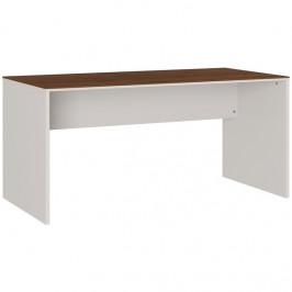 GERMANIA Bílý kancelářský stůl 4225-573 GW-Ancona