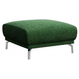 Tmavě zelený čalouněný taburet MESONICA Puzo