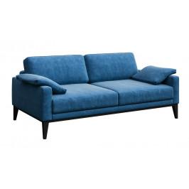 Světle modrá třímístná čalouněná pohovka MESONICA Musso 211 cm