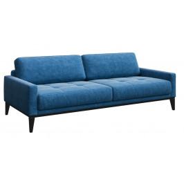 Světle modrá třímístná čalouněná pohovka MESONICA Musso Tufted 211 cm