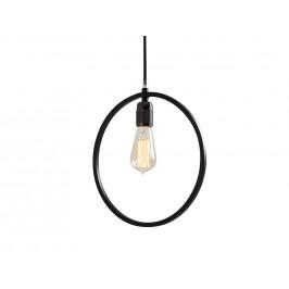 Nordic Design Černé kovové závěsné světlo Vitta 30 cm