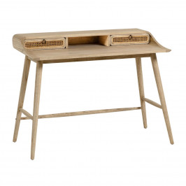 Přírodní dřevěný pracovní stůl LaForma Nalu 110 x 60 cm