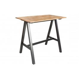 Moebel Living Masivní barový stůl Budy 120 cm