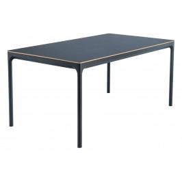 Černý kovový jídelní stůl HOUE Four 240 x 100 cm