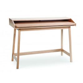 Dubový pracovní stůl Woodman St James 116x47 cm