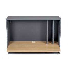 Nástěnný pracovní stůl Woodman Minyard 80x40 cm