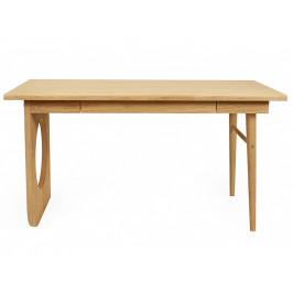 Přírodní dubový pracovní stůl Woodman Bau 140x70 cm