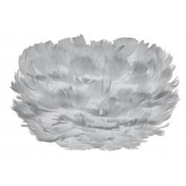 UMAGE Světe šedé závěsné světlo Eos Micro z pravých husích per Ø 22 cm