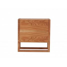 Přírodní dubová vinotéka Woodman NewEst 59x30 cm